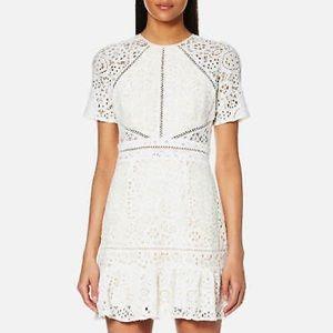 FoxieDox Edne White Lace dress NWT